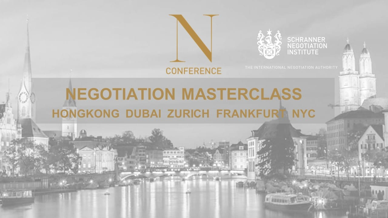 N Conference 2020 MASTERCLASS