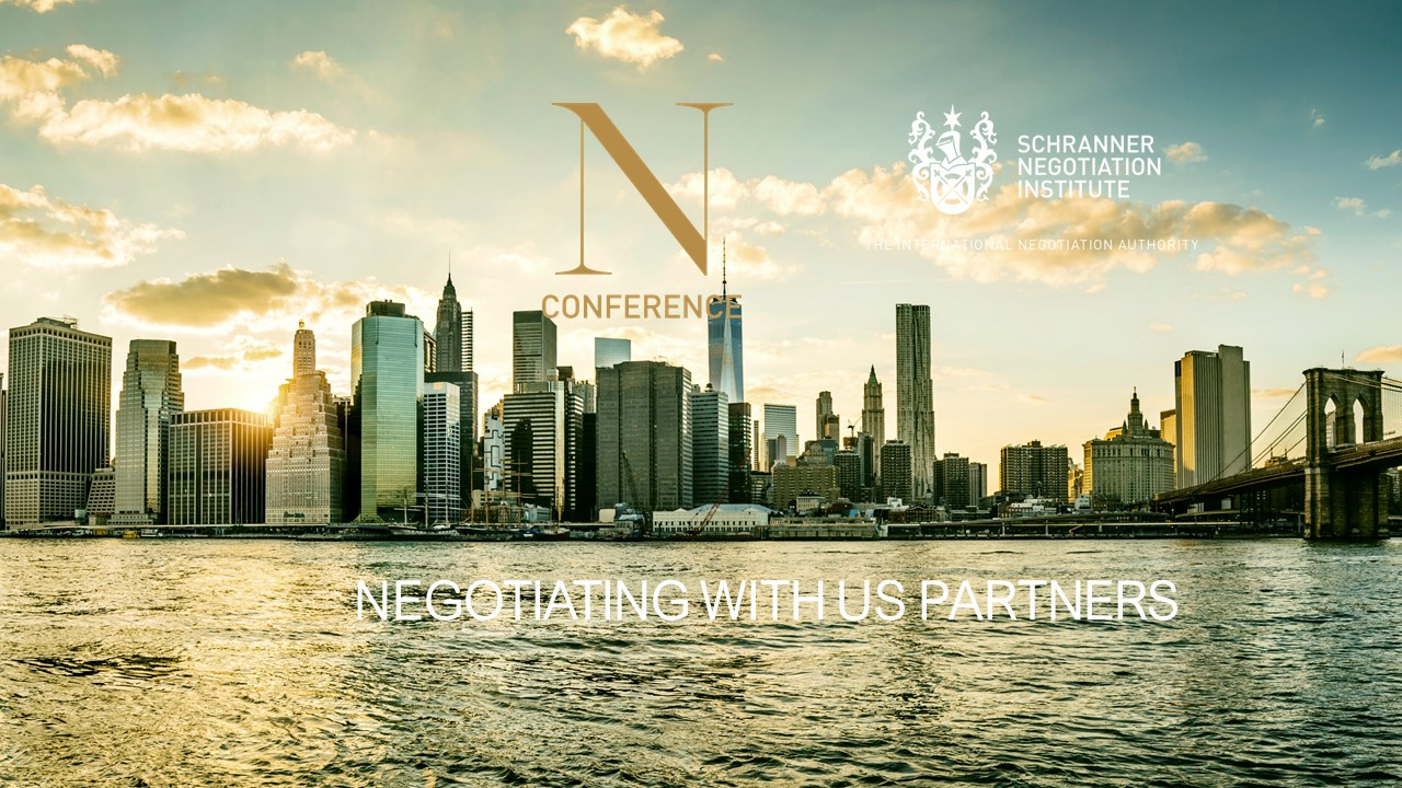 NEGOTIATING WITH U.S. PARTNERS