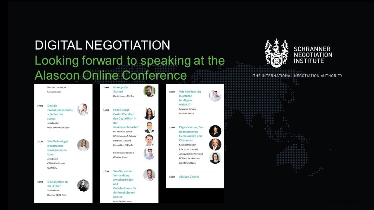 Digital Negotiation