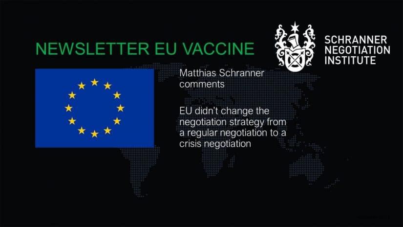 EU - AstraZeneca Negotiation