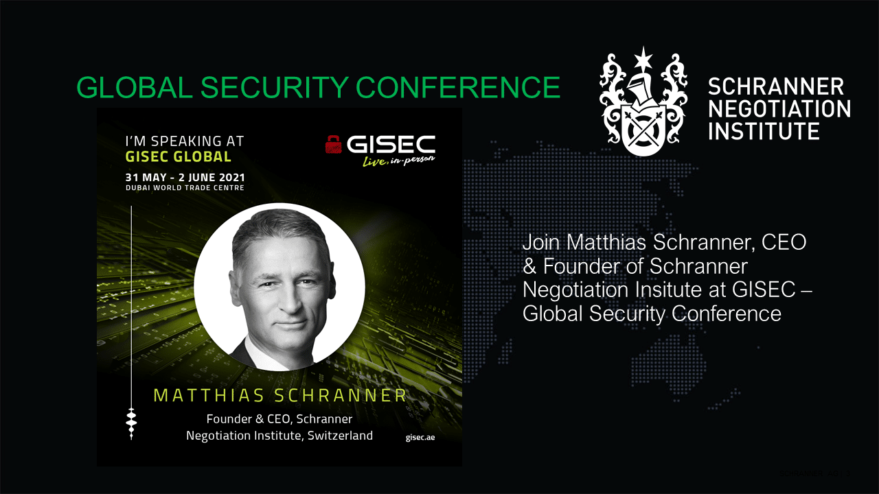 GISEC conference