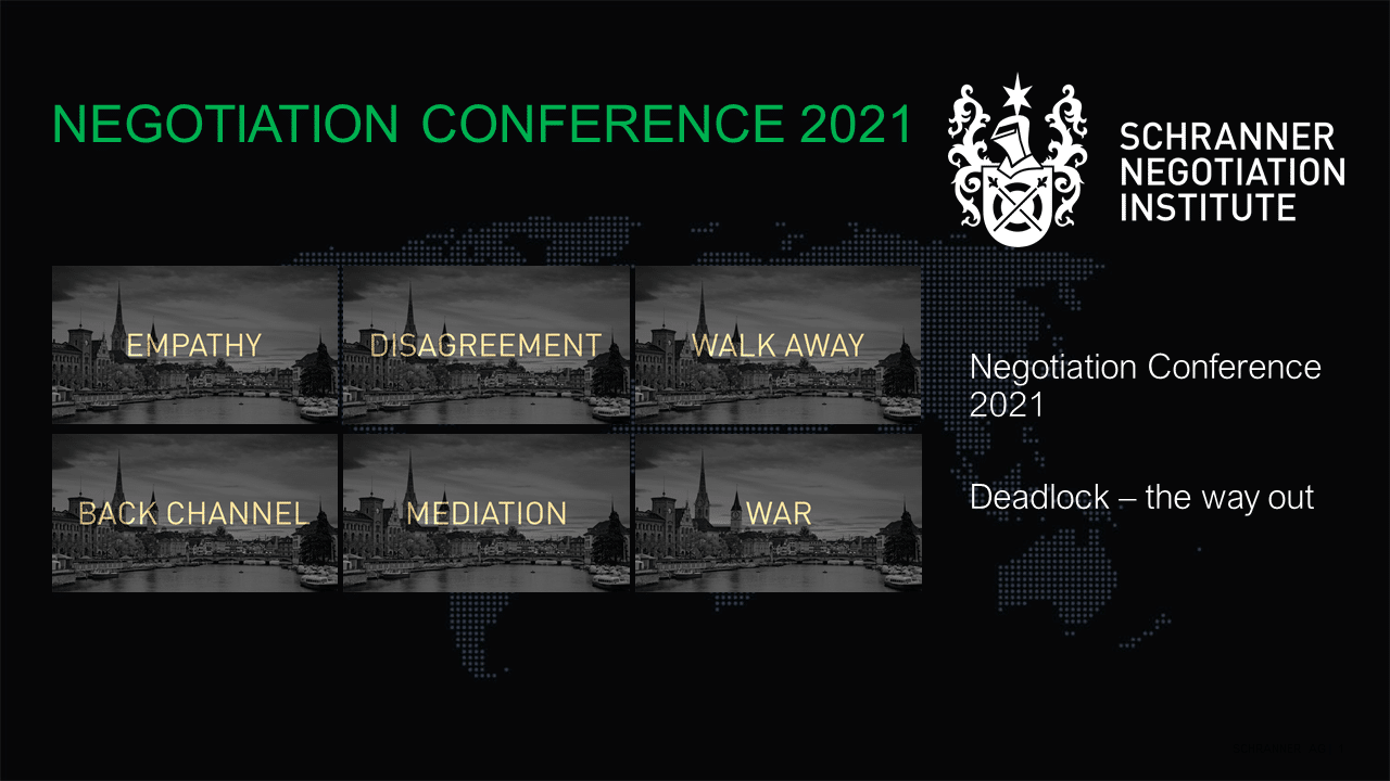 Negotiation Conference